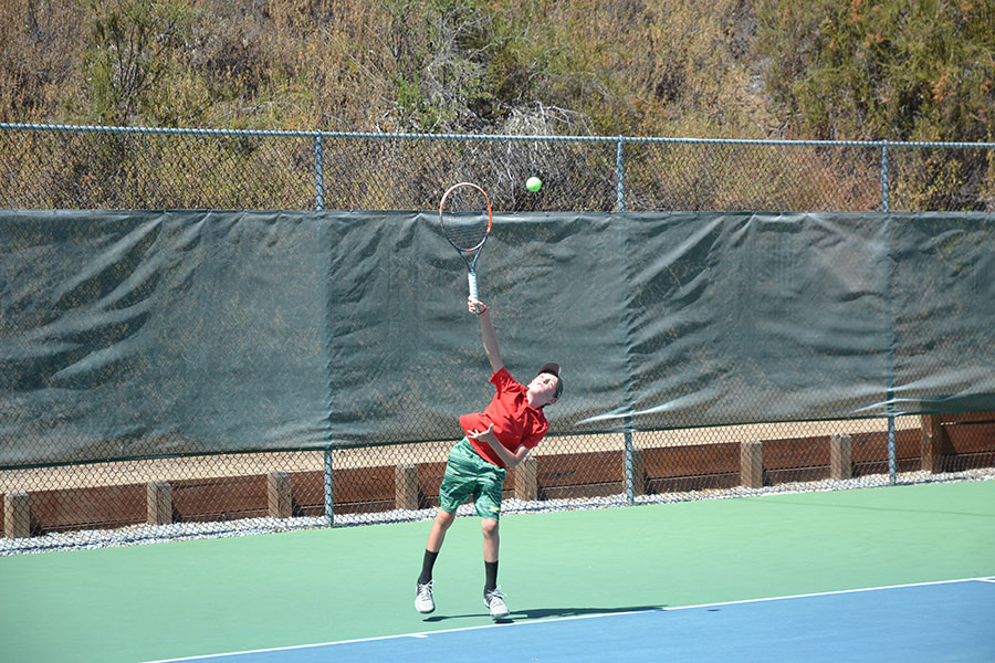 Tennis game